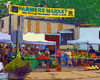 Fine Art Note Cards | Farmer's Market in Highland Park, NJ | Bill Bonner of Turtle Light Press