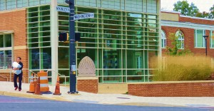 Painting of Westover Library Branch