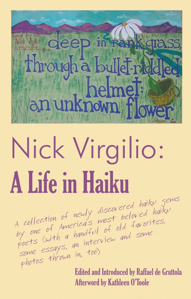 Cover of Nick Virgilio: A Life in Haiku
