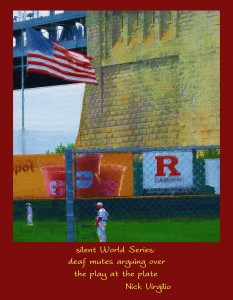 Baseball at Campbell field in Camden, NJ  Rick Black, artist; Nick Virgilio, poet