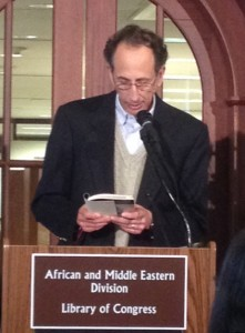 "Rick Black reading from ""Star of David"" poetry collection at Library of Congress"