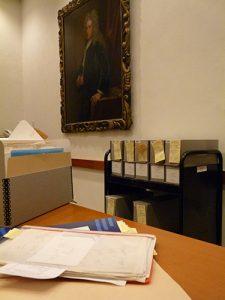 Boxes of Amichai materials