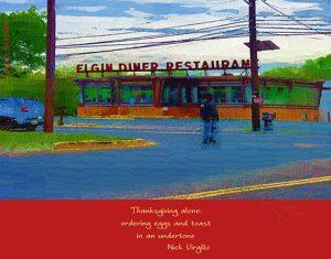Nick Virgilio Diner Haiga by Rick Black
