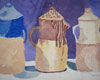 Fine Art Note Card | Ceramic Pitchers by David Black | Turtle Light Press