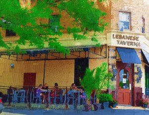 Lebanese Taverna in Westover, a neighborhood in Arlington, VA